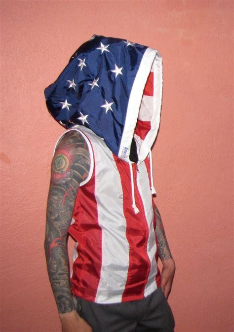 Handmade Apparel - american flag clothing mens hoodie mens shirt custom