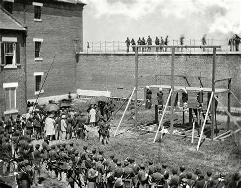pix july 7 the paynes july 7 1865 washington lincoln assassination conspirators surratt lewis payne david