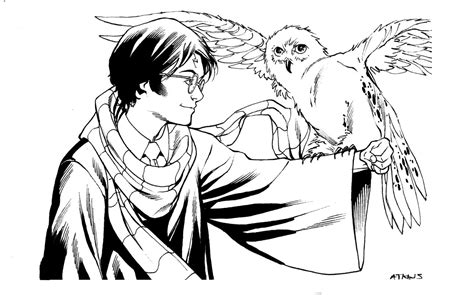 harry potter owl coloring pages best of movie harry potter coloring pages for kids