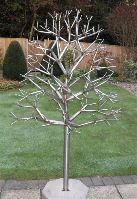 tree metal daren greenhow metal sculpture stainless steel tree