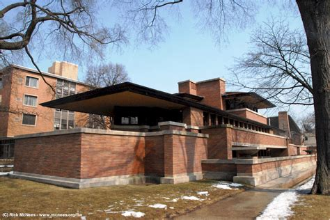 Prarie Style by Frank Lloyd Wright Prairie Architecture Robie