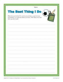 Essay Prompts For 4th Graders by The Best Thing I Do More Writing Prompts Ideas