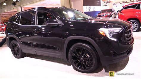 gmc terrain blacked out 2018 gmc terrain black edition exterior and interior