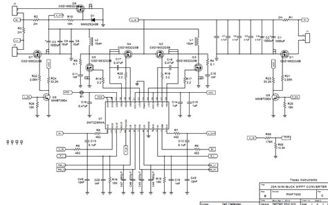 Solar Charge Controller Schematic Diagram Pdf mppt charge controller schematic diagram wiring diagram