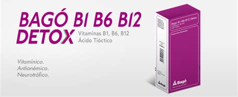 Is B12 For Detox by Laboratorios Bag 243 187 Bag 243 B1 B6 B12 Detox
