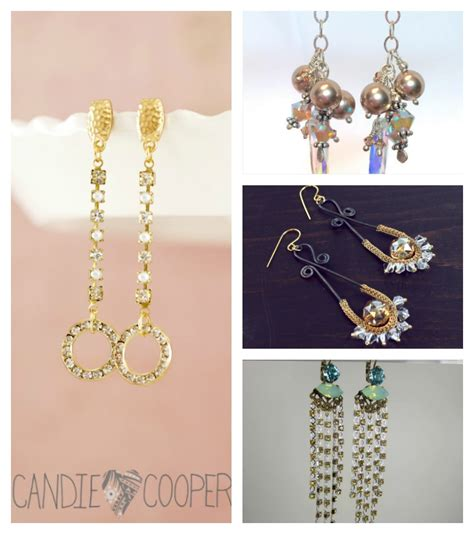 jewelry inspiration carpet sparkle how to make earrings