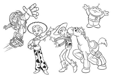 imagenes para colorear woody toy story toy story para colorear pintar e imprimir
