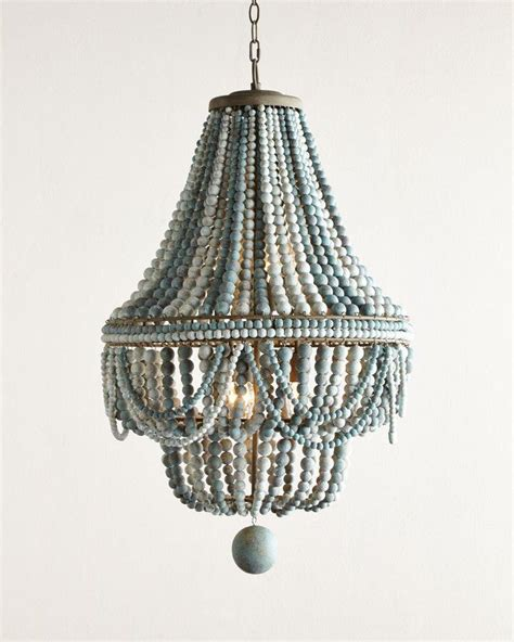 Beaded Wood Chandelier Best 20 Bead Chandelier Ideas On Pinterest
