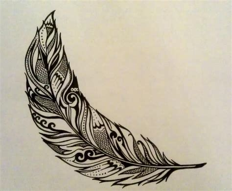 tattoo feather sketch feather tattoo illustration sketch inspiration by me