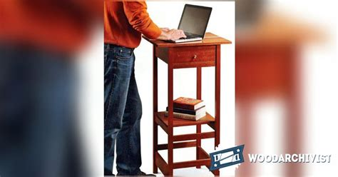 standing laptop desk standing laptop desk plans woodarchivist