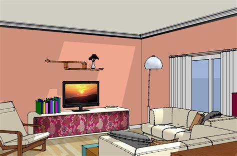 drawing living room simple living room sketch