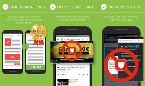 adblocker for android android ad blocker how to block ads on android smartphones