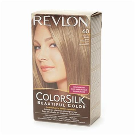 60 hair color revlon colorsilk 60 dark ash blonde haircolor wiki