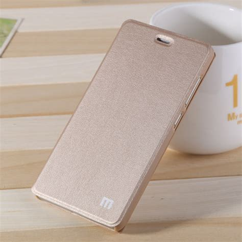 Xiaomi Redmi Pro Leather As xiaomi redmi 4 prime redmi 4 pro flip leather gold