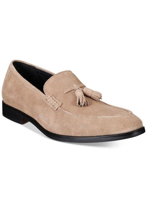 alfani s shoes loafers alfani alfani s declan suede tassel loafers created