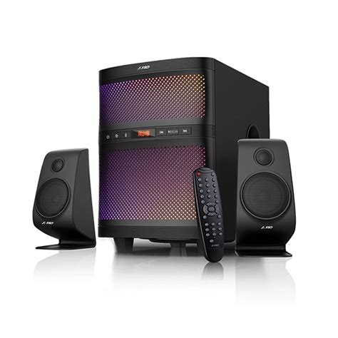 F D Speaker Bluetooth F550x Hitam speaker multimedia speaker home theater price in bangladesh