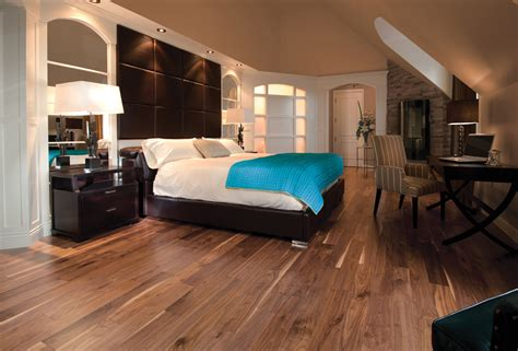 Hardwood Floor Bedroom Bedrooms With Walnut Hardwood Floors And Cherry Wood Furniture Wood Floors
