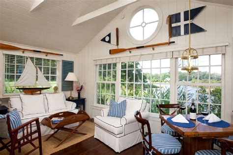 decorating a beach house nautical interior decorating style ideas