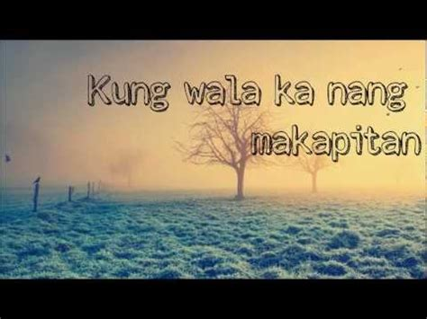kz tandingan wag ka nang umiyak lyrics musixmatch kz tandingan wag ka nang umiyak a beautiful affair ost