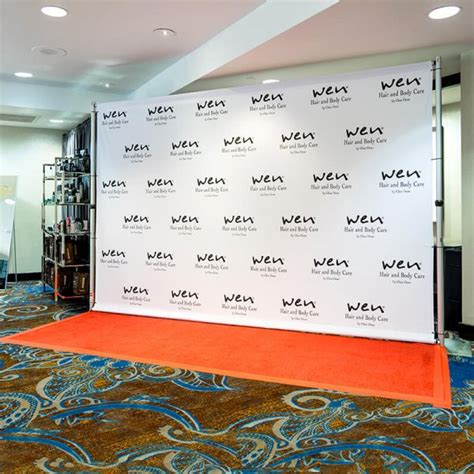 design backdrop panggung 8 x 12 step and repeat backdrop for your red carpet