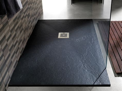 doccia a pavimento piatto doccia a filo pavimento design su misura colorato