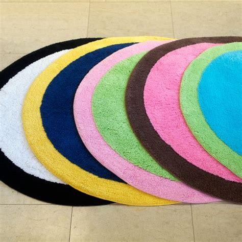 colorful bath rugs colorful spot on bath mat