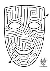 Mazes To Print Blackdogs Squares And Play sketch template
