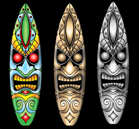 tiki surfboard designs boards all day pinterest