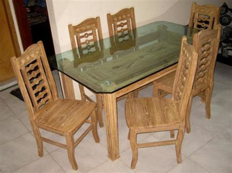 modern dining table  chairs glass top df furniture price  bangladesh bdstall