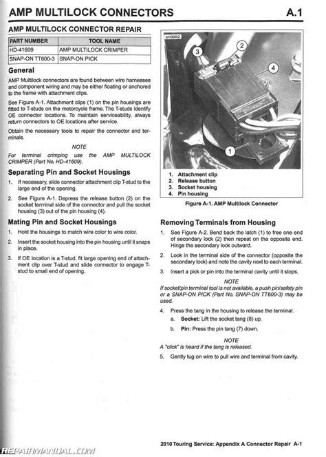 service manual manual lock repair on a 2010 subaru 2010 harley davidson touring motorcycle service manual abs included