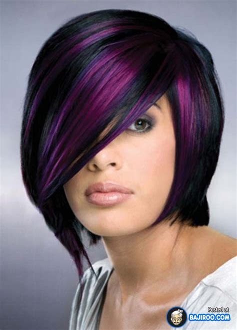 purple hair styles for black hair 50 stylish highlighted hairstyles for black hair 2017