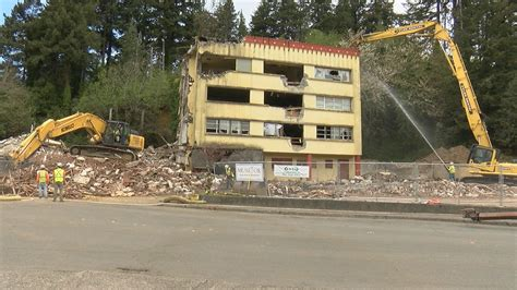 mcauley hospital  coos bay demolished
