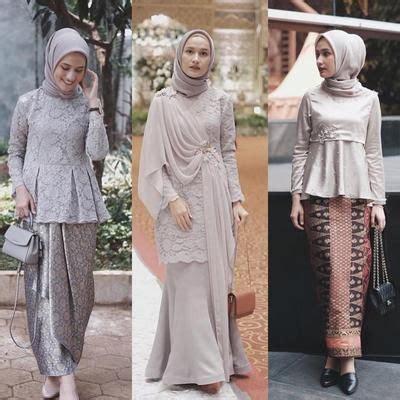 Setelan Abaya Muslim Kebaya Pesta model baju muslim kebaya modern 2018 fashion terbaik