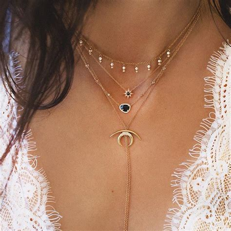 Necklace Layered Choker 25 best ideas about layered necklace on