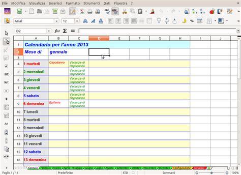 Un Calendario Calendario Perpetuo Con Annotazioni Il Club Software