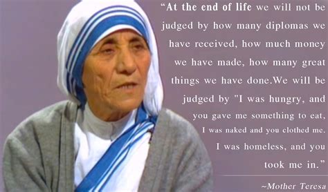 biography about a mother humanity quotes by mother teresa quotesgram