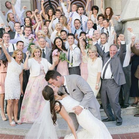 Family Wedding Photos At Reception