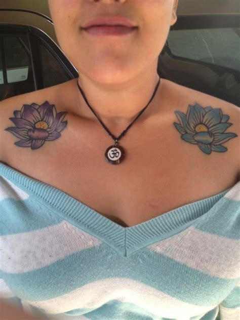 lotus flower tattoo on shoulder 155 lotus flower designs