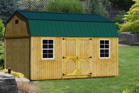 Garages With Lofts by Wood Storage Sheds For Sale In Ky Esh S Utility Buildings
