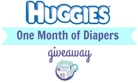Huggies Sweepstakes - huggies one month of diapers giveaway southern savers