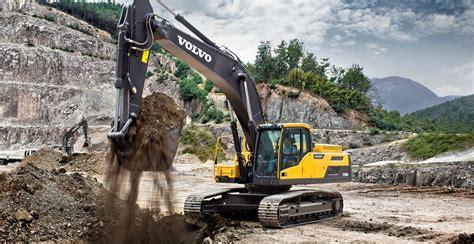 ecdl crawler excavators overview volvo construction equipment