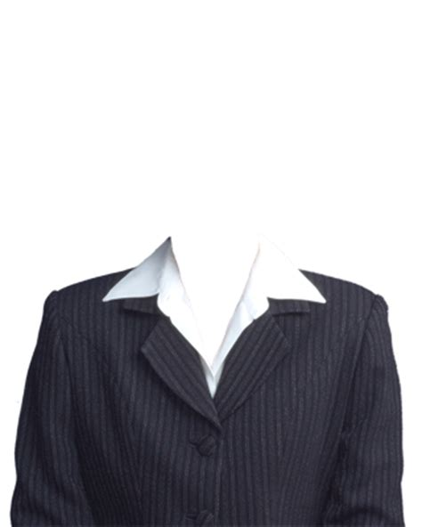 suit template with half length passport suit