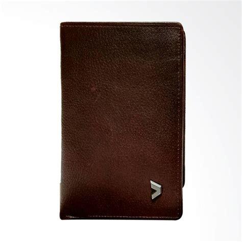 Kulit Pria Bifold Wallet Coklat jual kalibre 2 kipat leather dompet kulit pria coklat