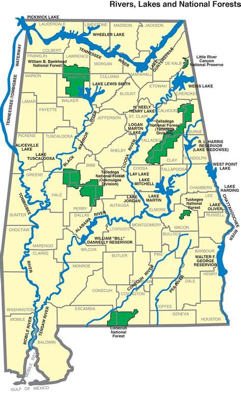 and alabama map adeca alabama water resources commission