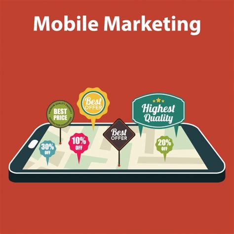 free mobile marketing mobile marketing background vector free