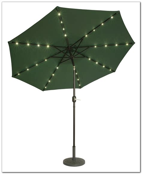 lighted patio umbrella solar 9 lighted patio umbrella patios home design