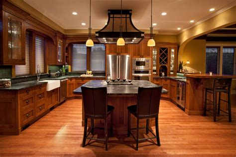 arts and crafts kitchen design fairfield arts and craft traditional kitchen