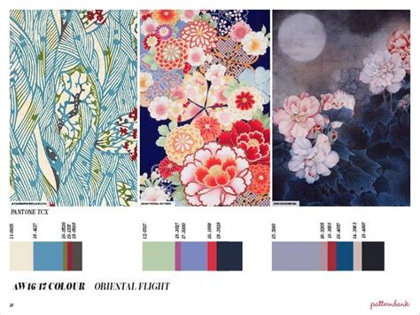 patternbank oriental flight fashion vignette trends patternbank aw 2016 17 print