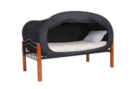 privacy pop bed tent twin privacy pop bed tent twin bunk black buy online in