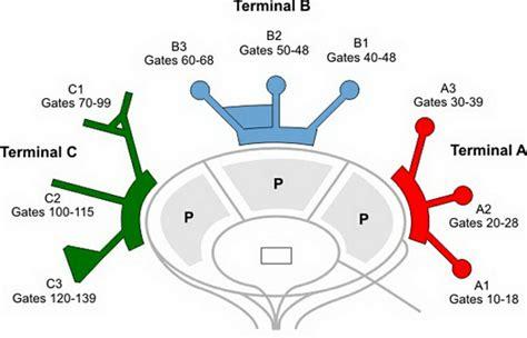 ewr airport map airport terminal map newark airport terminal map jpg